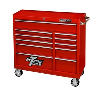 "Picture of Extreme 41"" 11 Drawer 24""D Roller Cabinet R-PWS4124RCTX"