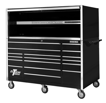 "Picture of Extreme 72"" Hutch Rolling Tool Cabinet Set R-EX721701HC"