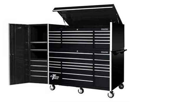 Picture of Extreme Toolbox Combo Set Chest, Rolling Cabinet + Locker R-EX7238CRCL