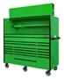 "72""x 30"" D rolling tool box and hutch"