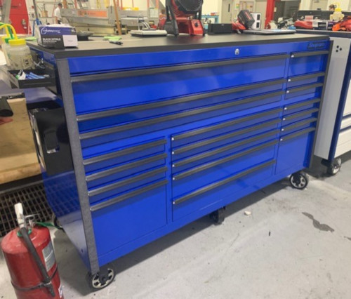 72 roller cabinet tool box pic from customer